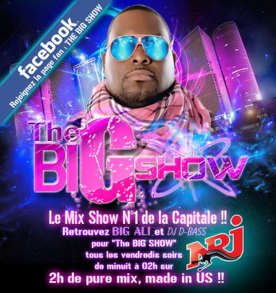 Rejoignez la page facebook - The BIG SHOW - sur NRJ !!